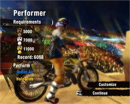 In game image of Red Bull X-Fighters on the Valve Steam.