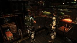 In game image of Resident Evil 6 Benchmark Tool on the Valve Steam.