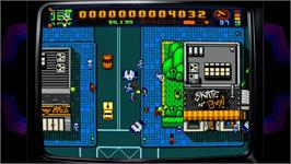 In game image of Retro City Rampage on the Valve Steam.