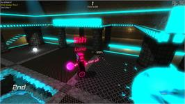 In game image of Robot Roller-Derby Disco Dodgeball on the Valve Steam.