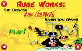 In game image of Rube Works: The Official Rube Goldberg Invention Game on the Valve Steam.