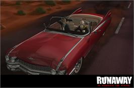In game image of Runaway: A Twist of Fate on the Valve Steam.