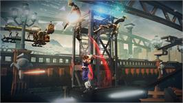 In game image of STRIDER on the Valve Steam.