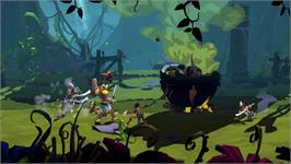 In game image of Sacred Citadel: Jungle Hunt on the Valve Steam.