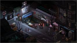 In game image of Shadowrun: Dragonfall on the Valve Steam.