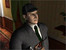 In game image of Sherlock Holmes: The Mystery of the Mummy on the Valve Steam.