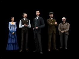 In game image of Sherlock Holmes: The Silver Earring on the Valve Steam.