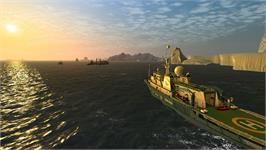 In game image of Ship Simulator Extremes on the Valve Steam.