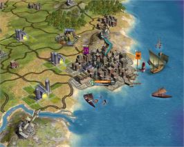 In game image of Sid Meier's Civilization® IV on the Valve Steam.