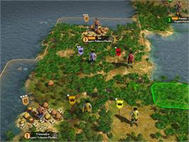 In game image of Sid Meier's Civilization IV: Colonization on the Valve Steam.
