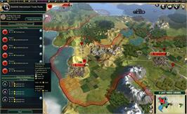 In game image of Sid Meier's Civilization V: Brave New World on the Valve Steam.
