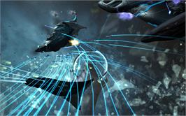 In game image of Sins of a Solar Empire®: Rebellion - Stellar Phenomena on the Valve Steam.