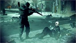 In game image of Sniper Elite: Nazi Zombie Army on the Valve Steam.