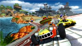 In game image of Sonic & SEGA All-Stars Racing on the Valve Steam.