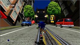 In game image of Sonic Adventure 2 on the Valve Steam.