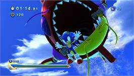 In game image of Sonic Generations on the Valve Steam.