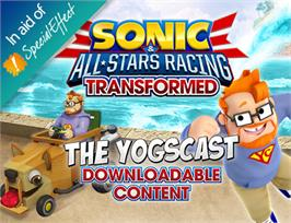 In game image of Sonic and All-Stars Racing Transformed - Yogscast DLC on the Valve Steam.