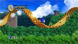 In game image of Sonic the Hedgehog 4 - Episode I on the Valve Steam.