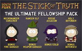 In game image of South Park: The Stick of Truth - Ultimate Fellowship Pack on the Valve Steam.