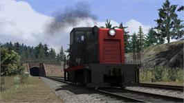 In game image of Southern Pacific GE 44 Loco Add-On on the Valve Steam.