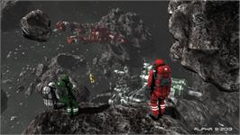 In game image of Space Engineers on the Valve Steam.