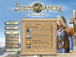 In game image of Spectromancer - Truth & Beauty on the Valve Steam.