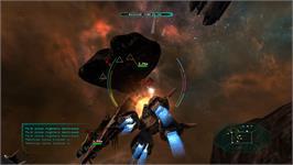 In game image of Star Raiders on the Valve Steam.