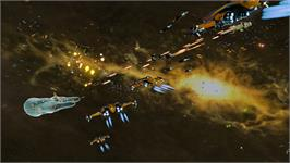 In game image of Star Swarm Stress Test on the Valve Steam.