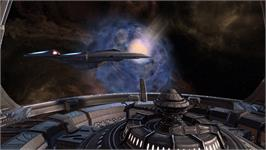 In game image of Star Trek Online on the Valve Steam.