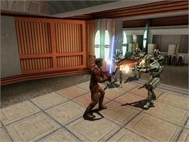 In game image of Star Wars: Knights of the Old Republic on the Valve Steam.