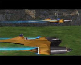 In game image of Star Wars Starfighter on the Valve Steam.