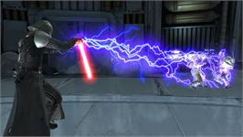 In game image of Star Wars The Force Unleashed: Ultimate Sith Edition on the Valve Steam.