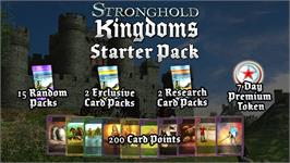 In game image of Stronghold Kingdoms Starter Pack on the Valve Steam.
