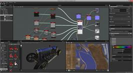 In game image of Substance Designer on the Valve Steam.