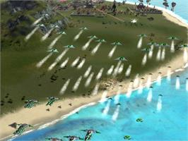 In game image of Supreme Commander: Forged Alliance on the Valve Steam.