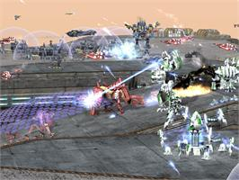 In game image of Supreme Commander 2 on the Valve Steam.