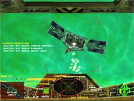 In game image of Tachyon: The Fringe on the Valve Steam.
