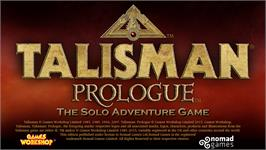 In game image of Talisman: Prologue on the Valve Steam.