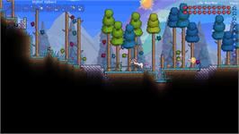 In game image of Terraria on the Valve Steam.