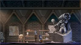 In game image of Teslagrad on the Valve Steam.