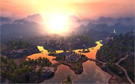In game image of The Settlers 7: Paths to a Kingdom The Two Kings DLC #4 on the Valve Steam.