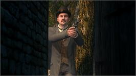 In game image of The Testament of Sherlock Holmes on the Valve Steam.