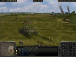 In game image of Theatre of War 2: Kursk 1943 on the Valve Steam.