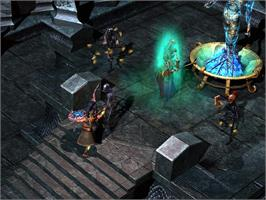 In game image of Titan Quest - Immortal Throne on the Valve Steam.