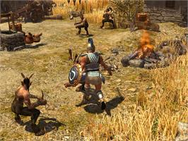 In game image of Titan Quest on the Valve Steam.