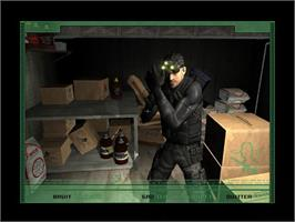 In game image of Tom Clancy's Splinter Cell® on the Valve Steam.