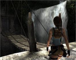 In game image of Tomb Raider: Anniversary on the Valve Steam.