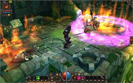 In game image of Torchlight on the Valve Steam.