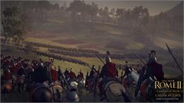 In game image of Total War: ROME II - Caesar in Gaul on the Valve Steam.