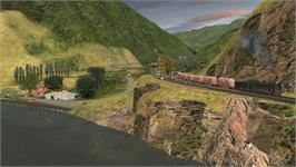 In game image of Trainz: Murchison 2 on the Valve Steam.